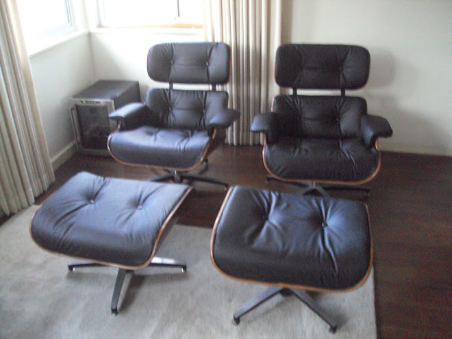 & Plycraft Lounge Chair Restoration (Eames Lounger)