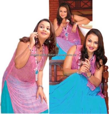 Sri Lankan Actress Semini Iddamalgoda