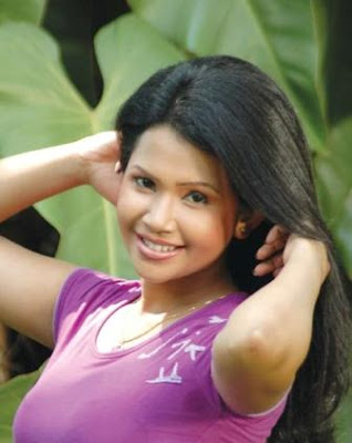 Sri Lankan actress Watsala Diyagoda
