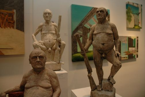NAKED OLD MEN... The Exhibition provides millions of visitors around the ...
