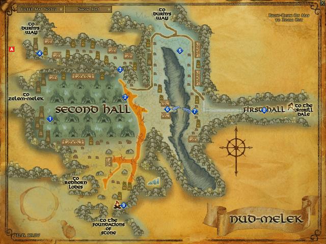 LOTRO Nud-melek map