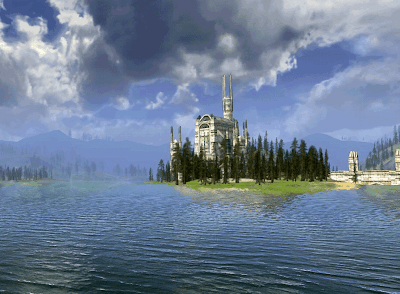 LOTRO Evendim. Care for a swim?
