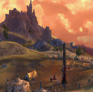 LOTRO Glumhallow in Lonelands