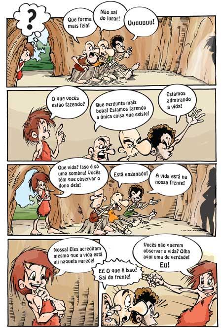 Ideias De Platão ~ Mito da caverna (Plat u00e3o) Julho 2010