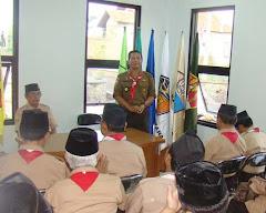 Wakil Bupati Cianjur Menerima Kwarda