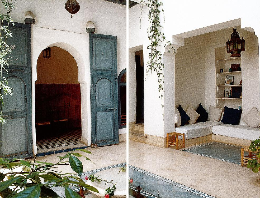 Morocco style moroccan interior design for Moroccan house design