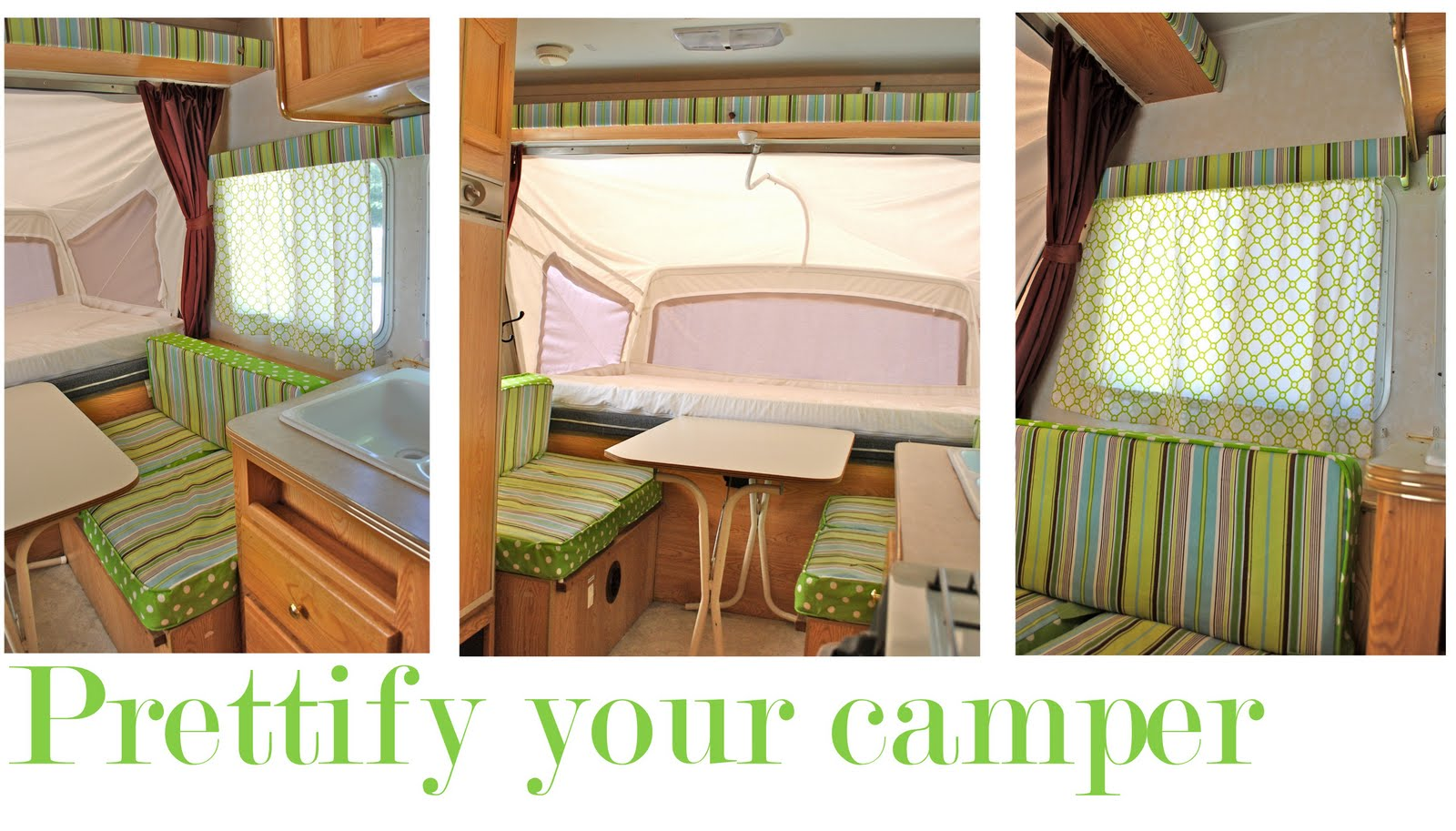Pink Polka Dot Prettify Your Camper