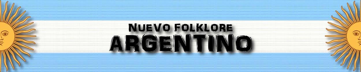 NUEVO FOLKLORE ARGENTINO