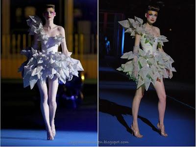 LADY GAGA - Born This Way - 23/05/11 Thierry+mugler+origami+dress