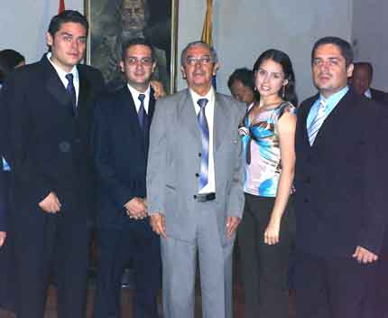Posesión como miembro de la Academia de Historia de Norte de Santander, Cúcuta, 17 diciembre 2007
