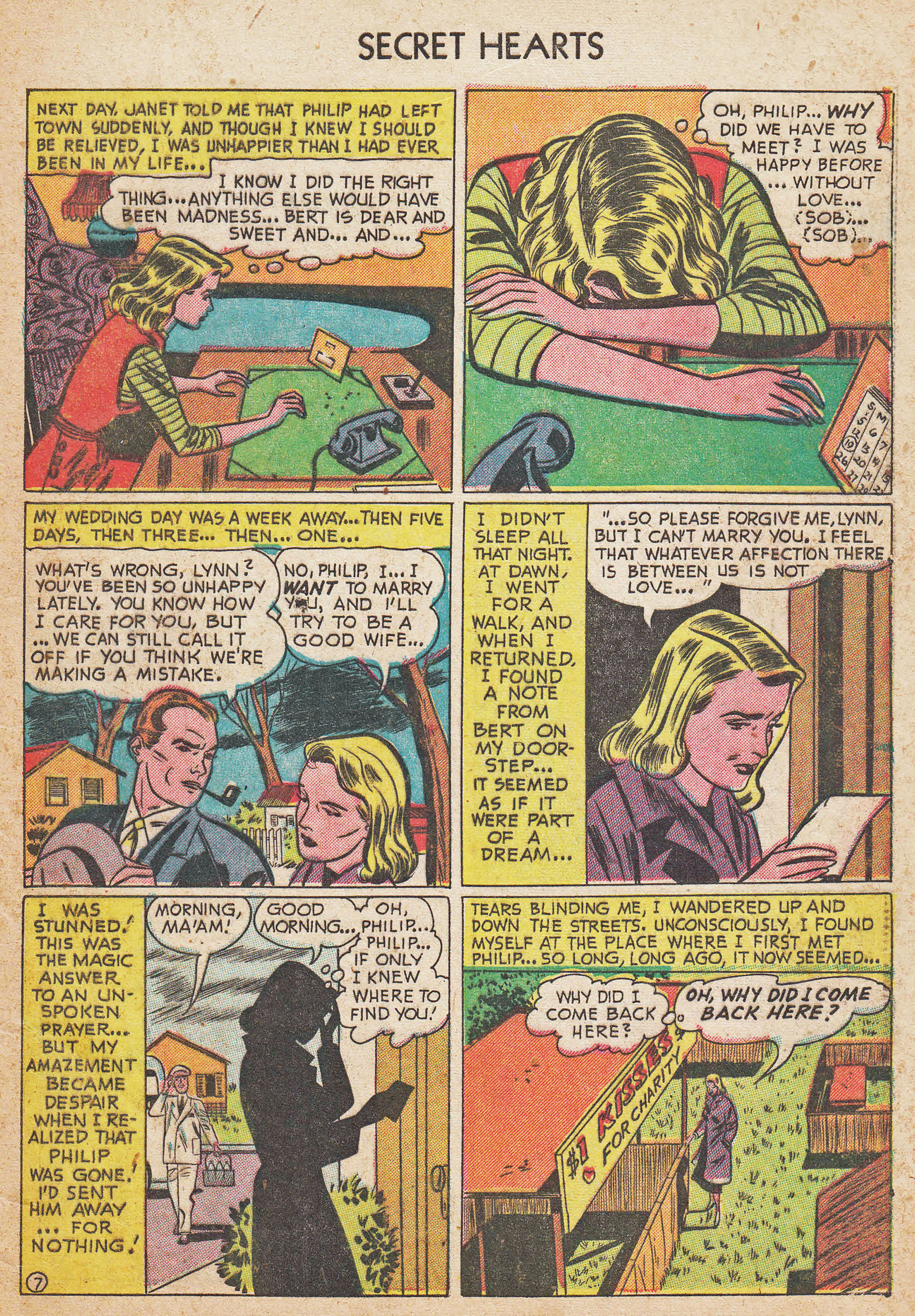 Read online Secret Hearts comic -  Issue #7 - 33