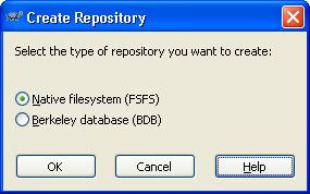 Native filesystem or Berkeley database