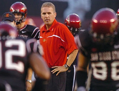 Chuck Long, when he was San Diego States football coach