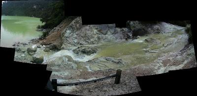 My New Zealand Vacation, Rotorua, Wai-O-Tapu, Pano14