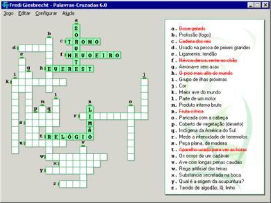 Download Jogo Palavras Cruzadas 8.0