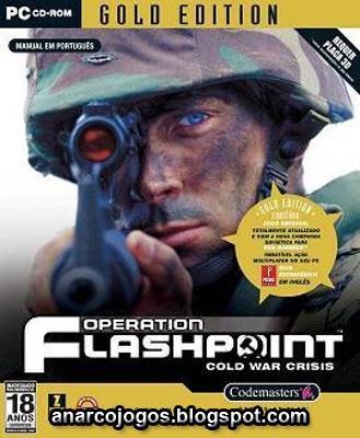 Operation Flashpoint Gold - Red Hammer (Jogo + 2 Expansões) - PC Game