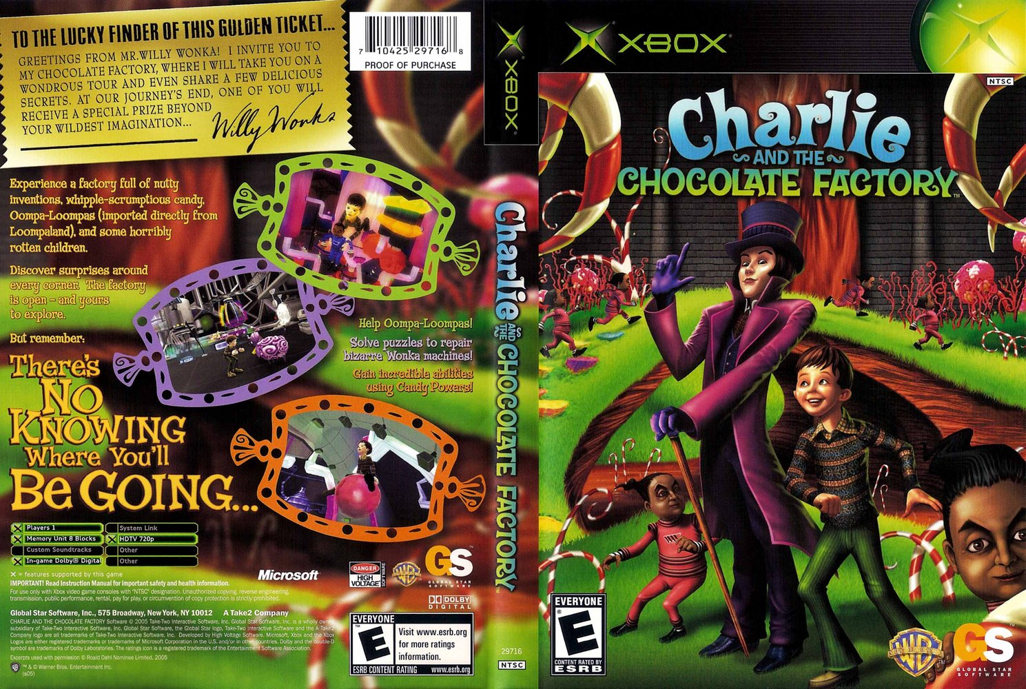 Charlie and the Chocolate Factory for Xbox - GameFAQs