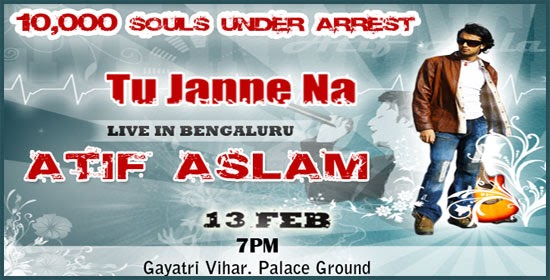 Hyderabad secunderabad blog atif aslam tto perform live for 13th floor bangalore phone number