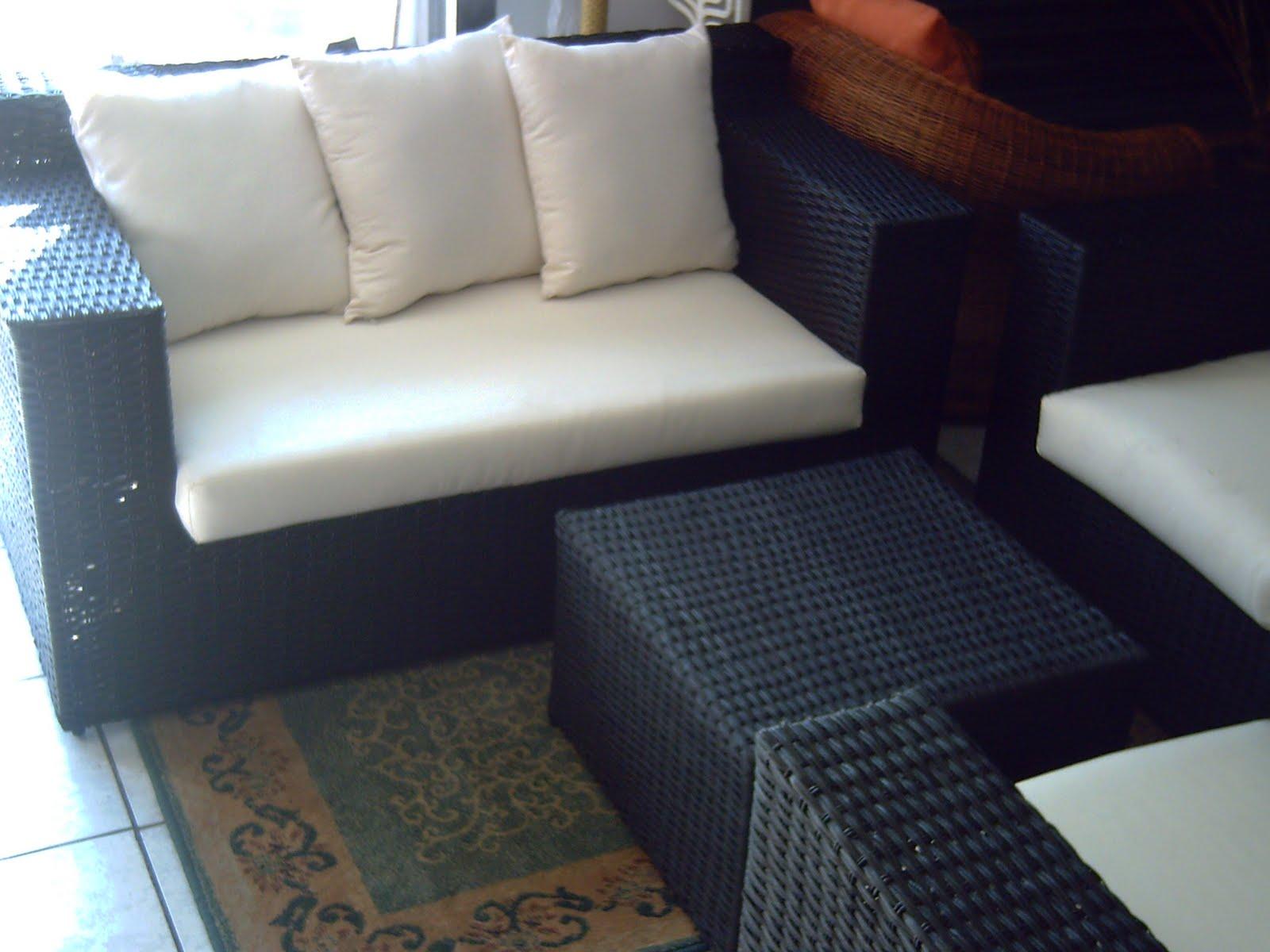 Mimbres y muebles rusticos y finos muebles de mimbre - Sofa de mimbre ...