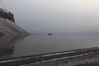 Nooderlicht in Skansbukta Fjord