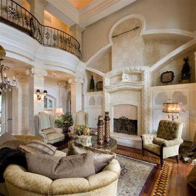 Living+Room+Interior+.Classical