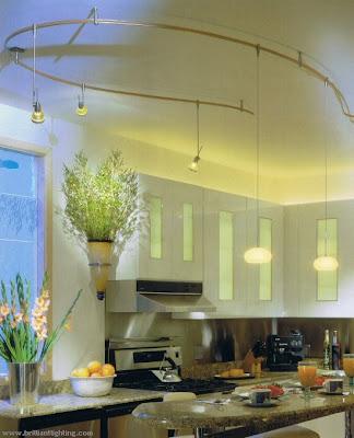 hitech kitchen lighting design ideas