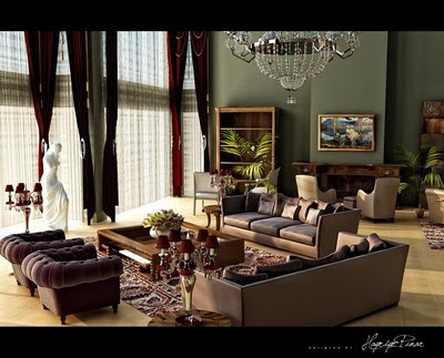 Modern Living Room Interior Design Ideas luxury design