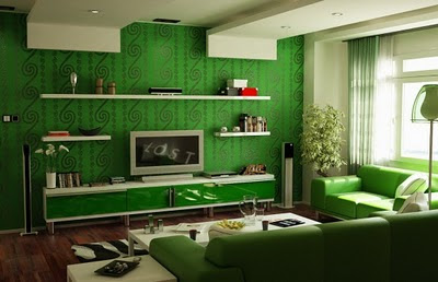 Modern Living Room Interior Design Ideas green design