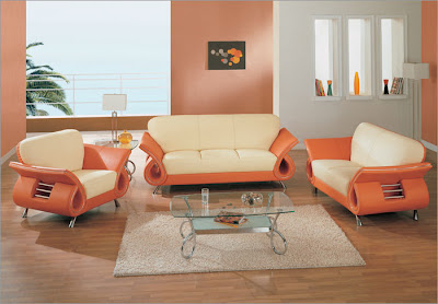 Global Furniture USA Clark 3 pc Leather Living Room Set