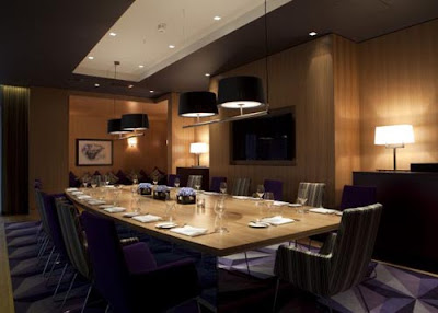 fitzwilliam hotel private dining room design