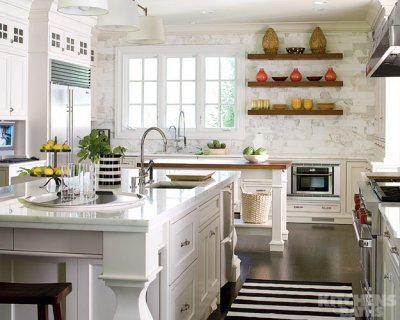 Kitchen Countertops on Mary Loves  Kitchen Inspiration