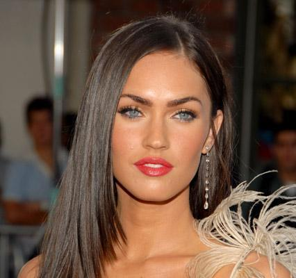 Megan Fox Casual Hair. megan fox hair up