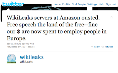 WikiLeaks Ousted By Amazon
