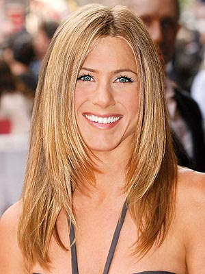 Hair With Layers. Jen#39;s hair has body and layers
