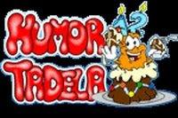 O emblema característico do melhore em piadas animadas.