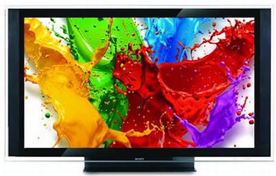 A maior TV LCD, High Definition, a única no mundo com 177 de diagonal visual
