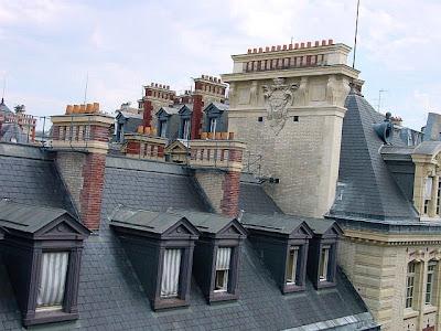 Minúcias de construções em Paris