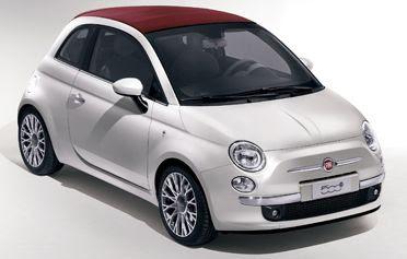 Imagem do compacto Fiat 500 Italiano