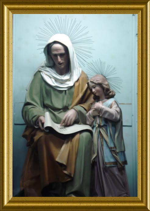 Immagine di Sant'Anna che si venera nella Chiesa di San Benedetto a Conversano