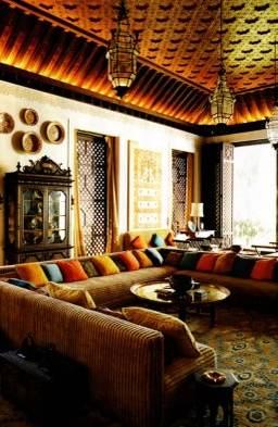El cuaderno del decorador el estilo marroqu - Muebles estilo marroqui ...