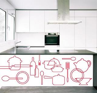 El cuaderno del decorador decorar paredes con vinilos ii for Bauhaus vinilos decorativos