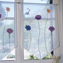 El cuaderno del decorador cortinas visillos y persianas - Como hacer visillos ...