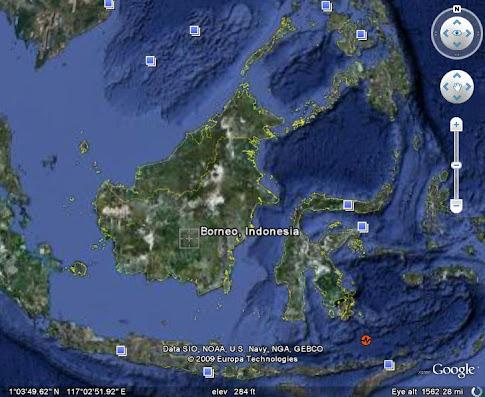 Tulisan Mahdi di Borneo