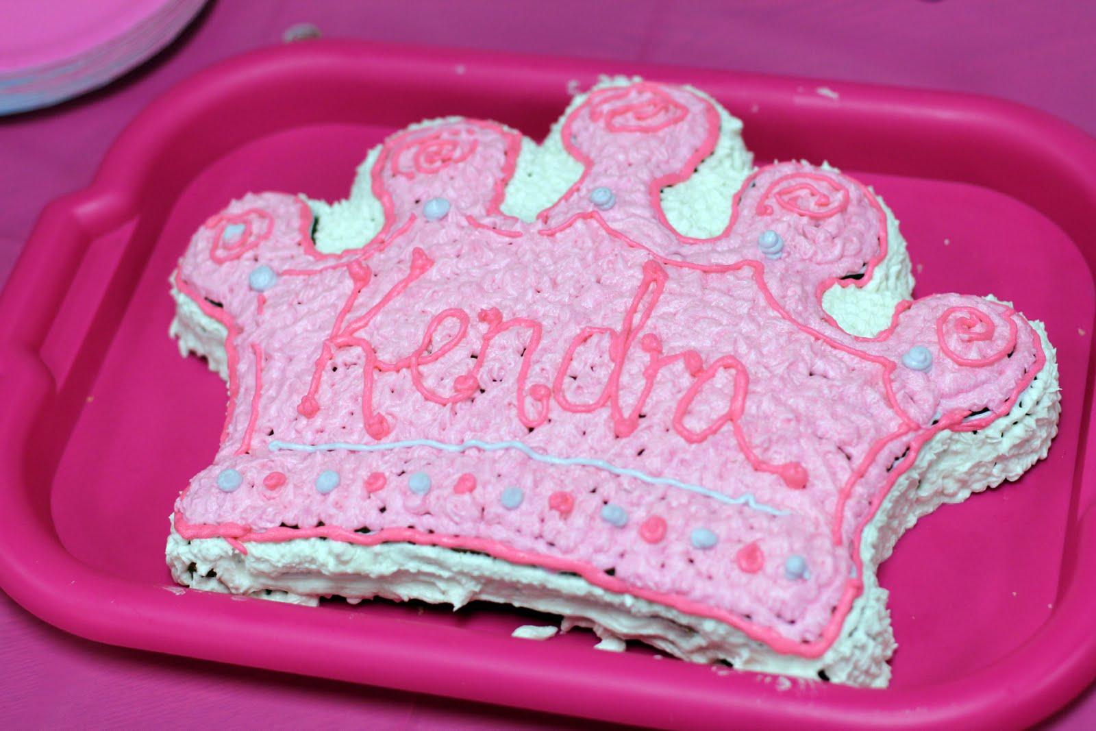 Jamies Sweet Creations 1st Birthday Princess Cake