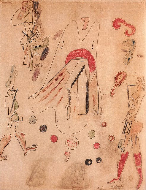 Antonin Artaud, La Pendue (The Hanged), 1945