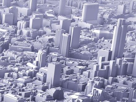 3D model of Future London