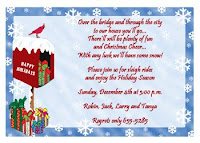 Christmas Invitations cards