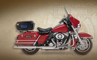 Harley-Davidson Fire/Rescue Electra Glide, 2009