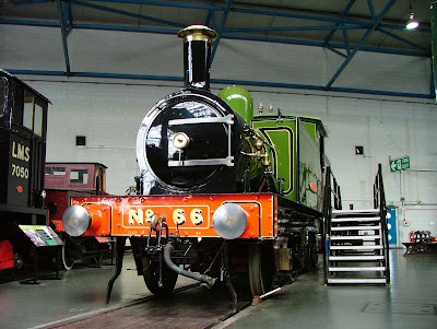 North Eastern elegance; Aerolite in the Main Hall of the National Railway Museum