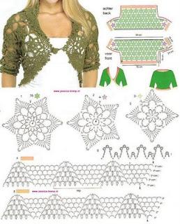 - manualidades blusas tejidas en crochet patrones gr - Sabukan